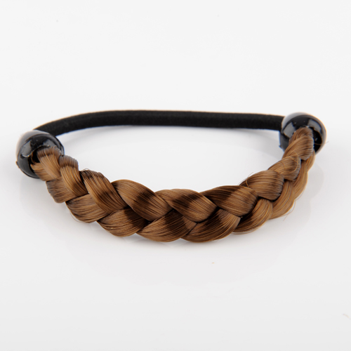 1pc Synthetic Fiber Braid/Straight Hair Hairband Pon-ytail Rope/Holers