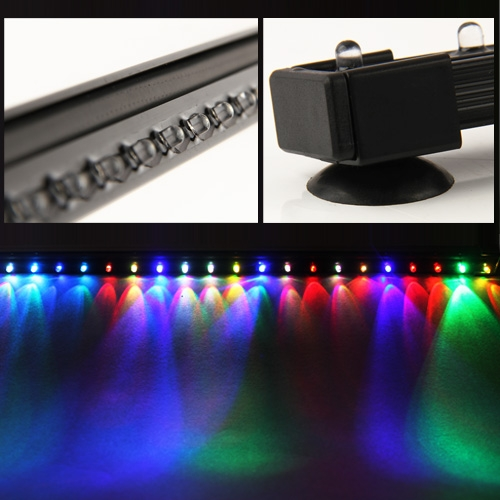 Multi color aquarium pet fish tank led bar light for Fish tank led light bar