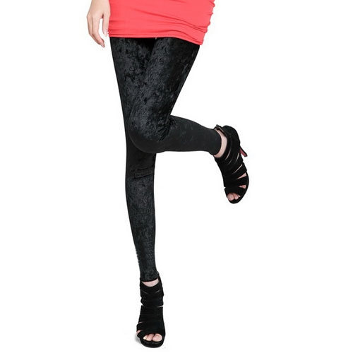 2014-Hot-Brand-New-Popular-Women-039-s-Diamond-Lady-Skinny-Club-Velvet-Leggings