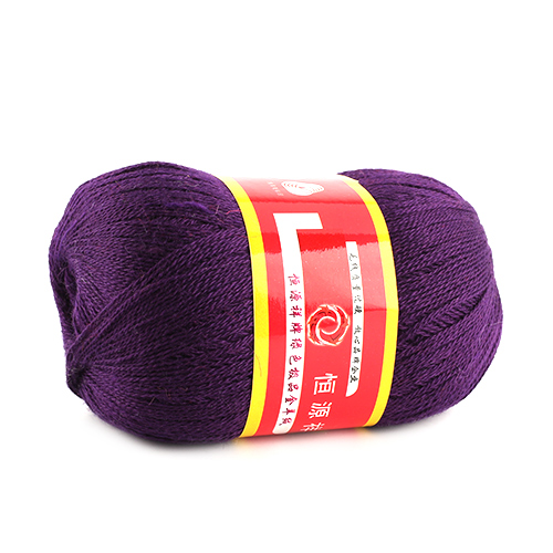 50g 1pcs Ball Worsted Silk Soft Wool Cashmere Warm Baby Handcraft Yarn Knitting