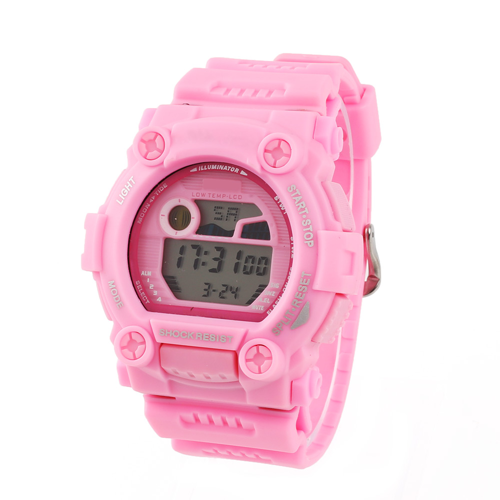 Army-Style-Silicone-Men-Cool-Waterproof-Wrist-Watch-LED-Flash-5-Colors-Xmas