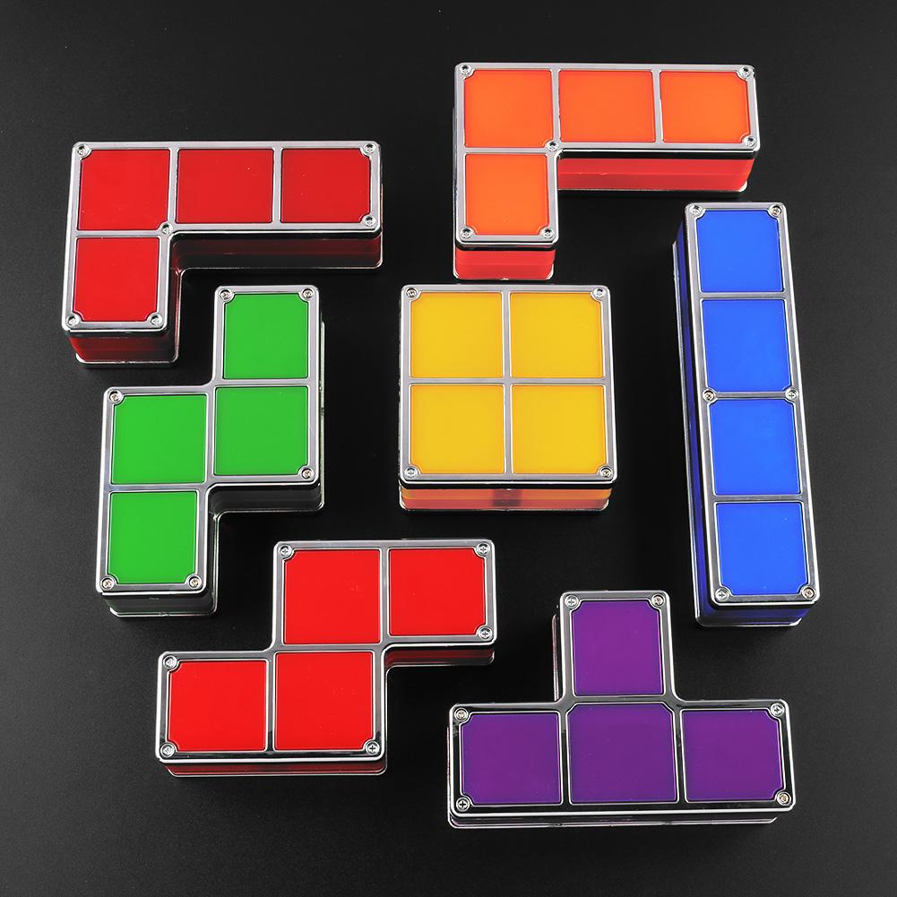 Neuheit Tetris DIY Konstruierbar Retro Spiele-Style ...