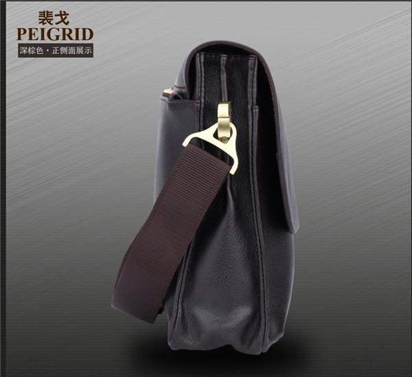 New Mens Leather Handbag Messenger Shoulder Briefcase Laptop BAG Business Purse