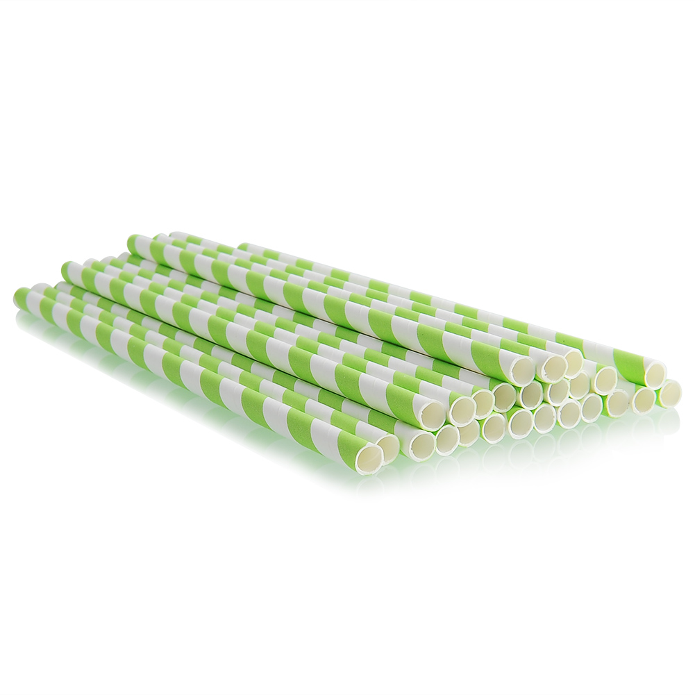 25pcs-Multi-Color-Striped-Paper-Drinking-Straws-Wedding-Birthday-Festival-Supply