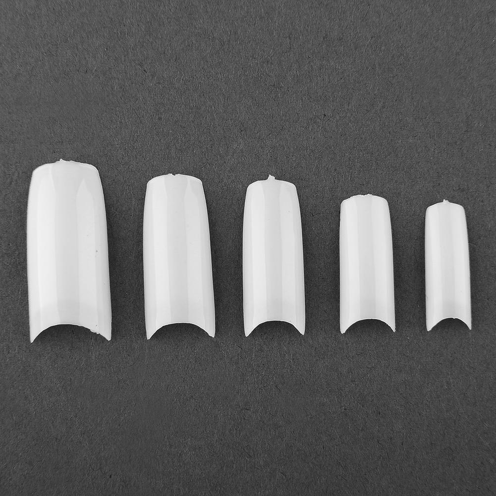 500Pcs DIY French Acrylic Artificial Half False Nail Art Manicure Hot New