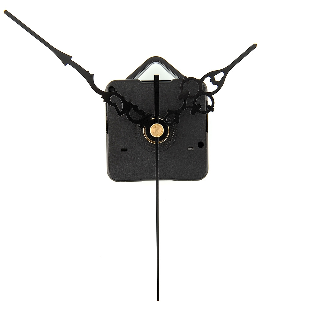 Silent Essential Quartz Clock Movement Mechanism Hands Wall Clock Repair Choice