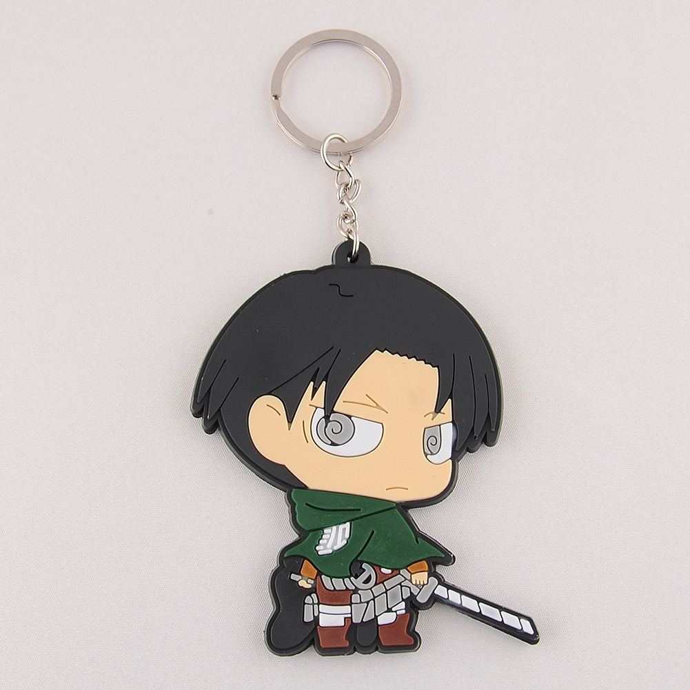 New Cute Adorable Attack On Titan Silicone Key Ring Chain. 2ct Sapphire. Groove Rings. Eagle Pendant. Lewis Hamilton Watches. Mini Stud Earrings. Round Eternity Band. Irish Wedding Rings. Clover Pendant
