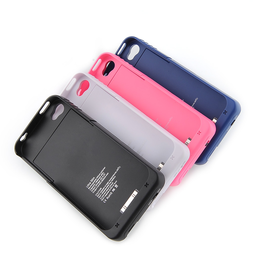1900mAh Battery Charger Power Bank Pack Case Cover Fit for ...