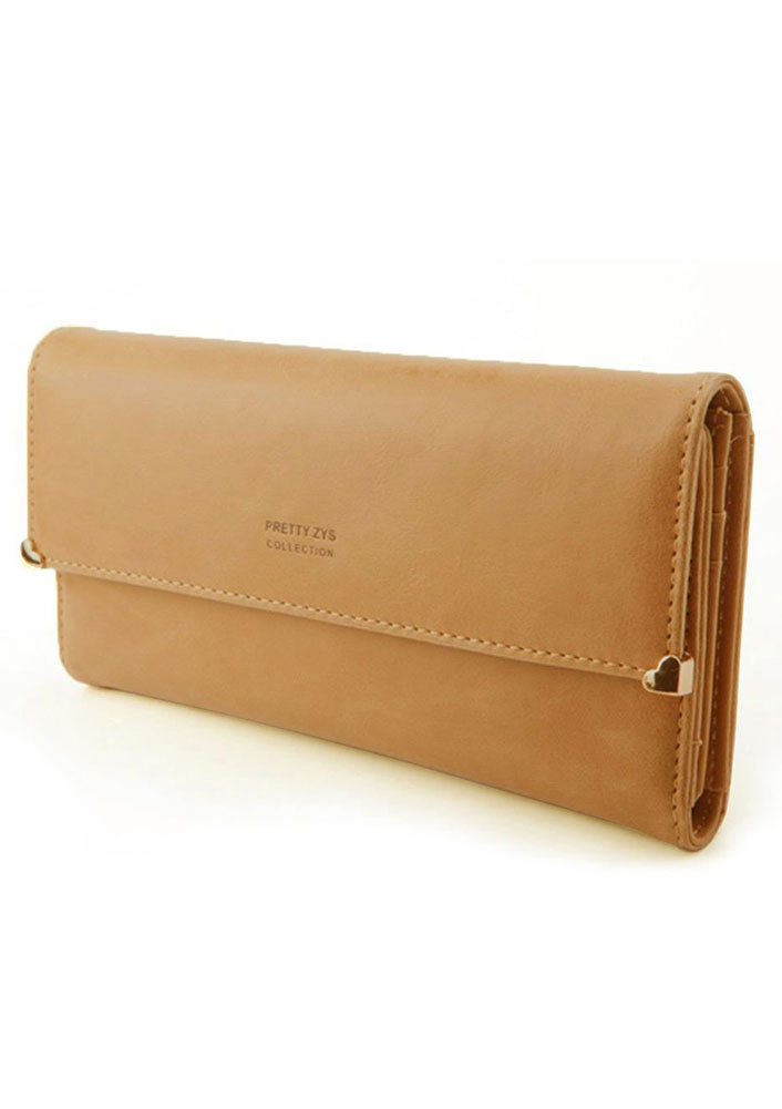 Womens-New-Fashion-Clutch-Matte-Leather-Wallet-Card-Purse-Handbag-Candy