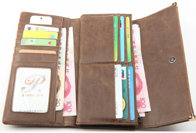Womens New Fashion Clutch Matte Leather Wallet Lady Card Purse Girl Handbag