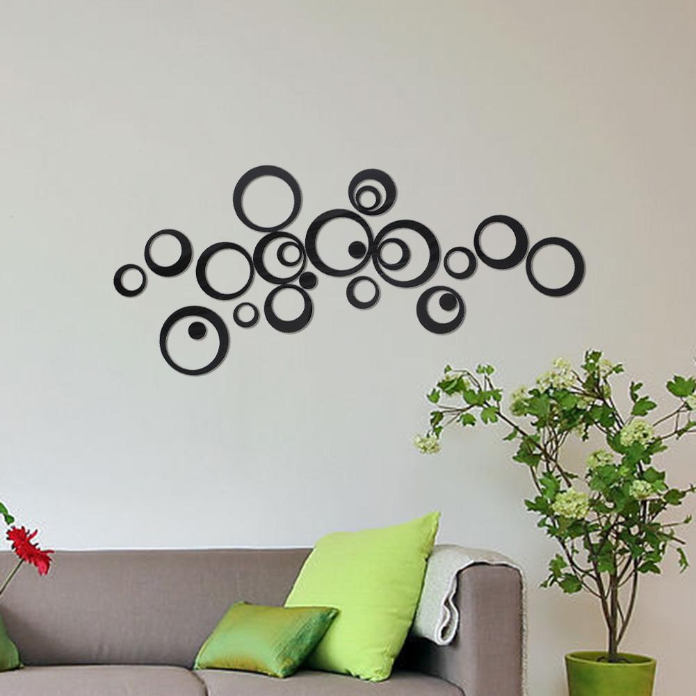Как сделать круги на стене