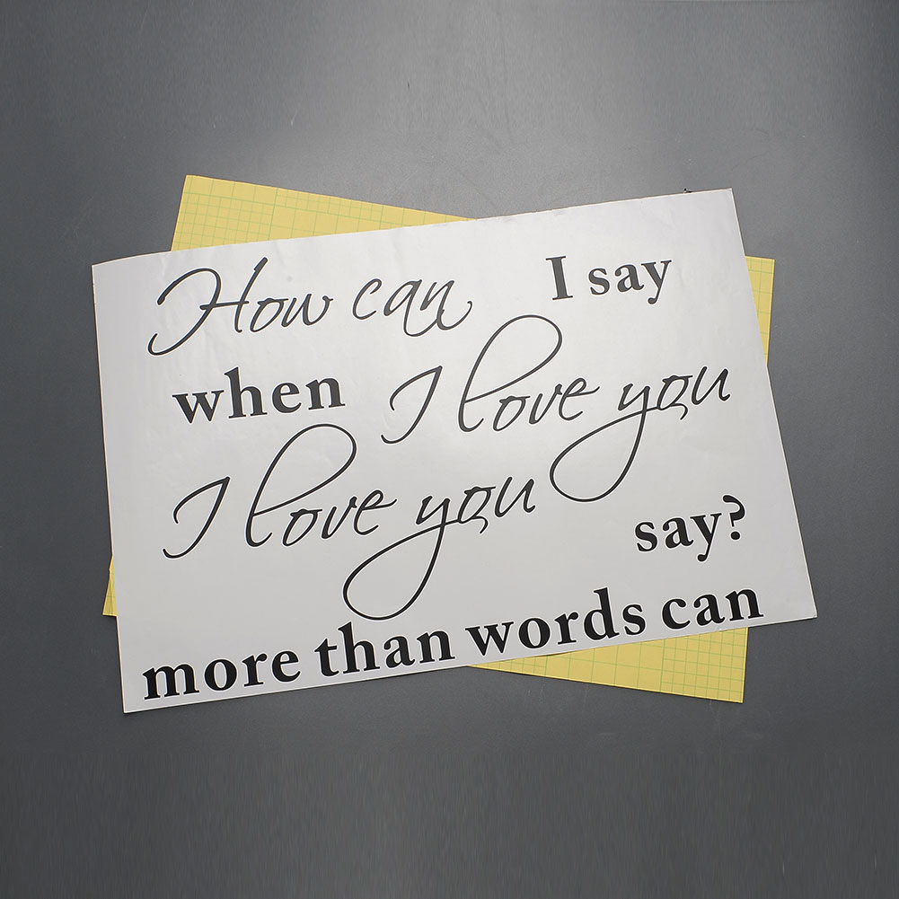 Love You More Than Words Can Say Quotes How can i say i love u quote