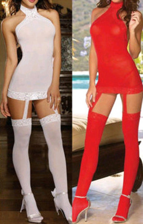 New* Sexy Lingerie Nightwear Ladies Sleepwear Babydoll+G-String Pajama