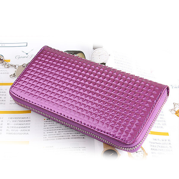Fashion Women's Clutch Soft Leather Wallet Zip lady Long Card Purse Handbag