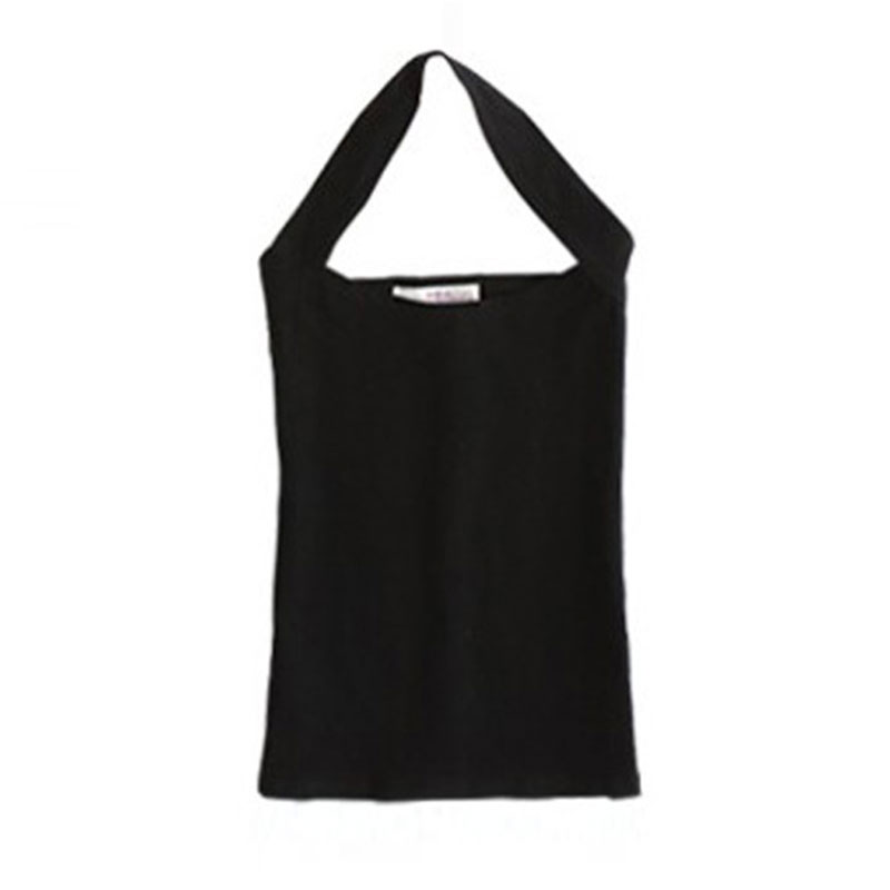 Sexy Women's Lady Halter Sleeveless Low Cut Vest Shirt Tank Backless Top