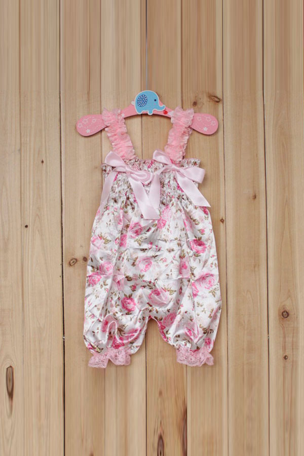 Hot New Baby Girl Petti Rompers Dress Infant Children Tutu Lace Pants Jumpsuit