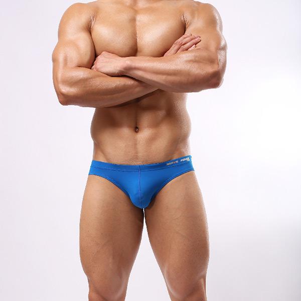 Stylish Men's Swim Briefs Swimwear Swimsuit Beachwear S-L White Underwear