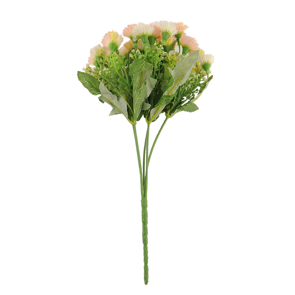 25-Heads-Artificial-Fake-Silk-Carnation-Flower-Bouquet-Home-Party-Wedding