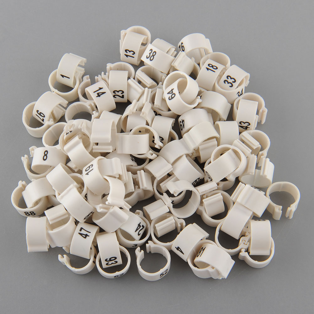 E3B8-100Pcs-Poultry-Leg-Bands-Pigeon-Parrot-Duck-Rings-10-5mm-1-100-Numbered