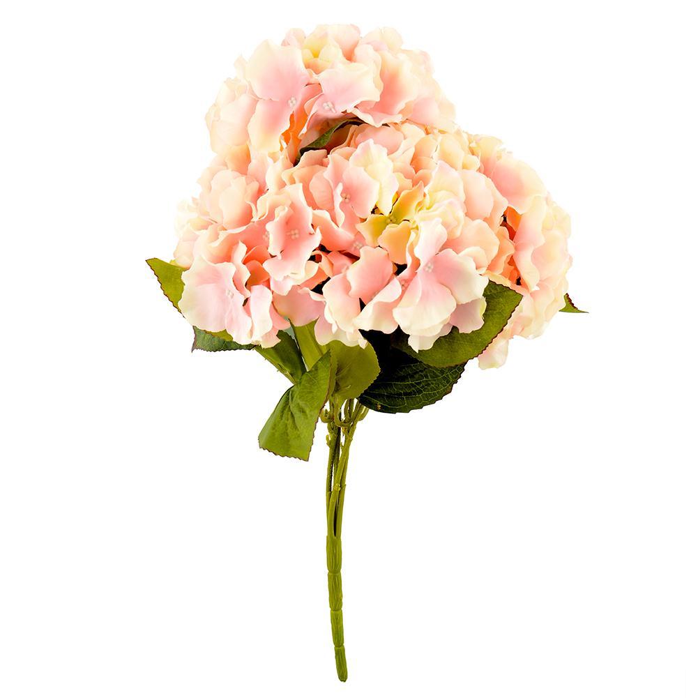 5 Flower Heads Artificial Fake Flower Home Wedding Garden Decor Hydrangea