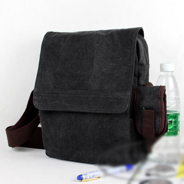 Retro-Men-039-s-Vintage-Canvas-Messenger-Bag-Working-Satchel-School-Shoulder-Bag