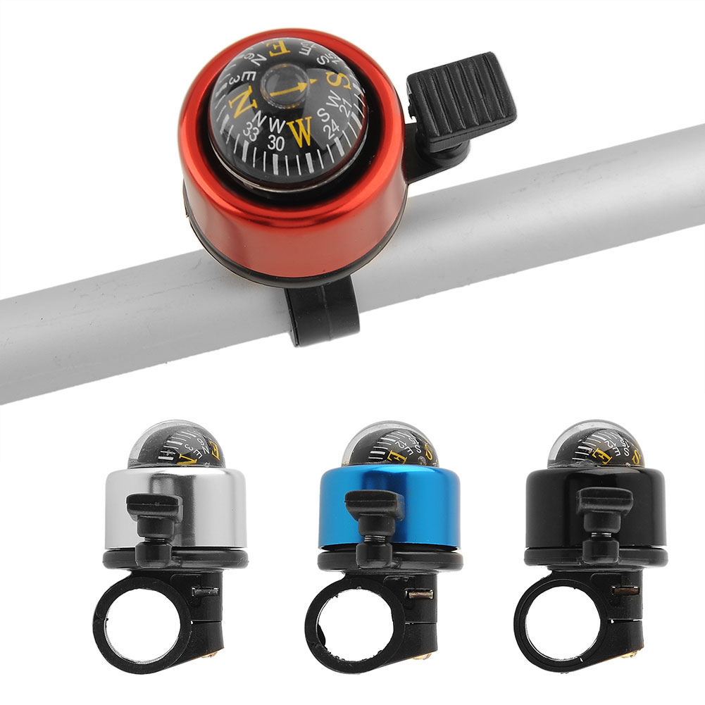 Bell-Horns-Metal-Ring-Alarm-Handlebar-Cycling-Bike-Bicycle-Compass-Useful