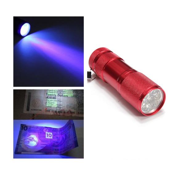 Как сделать ультрафиолет из светодиодов