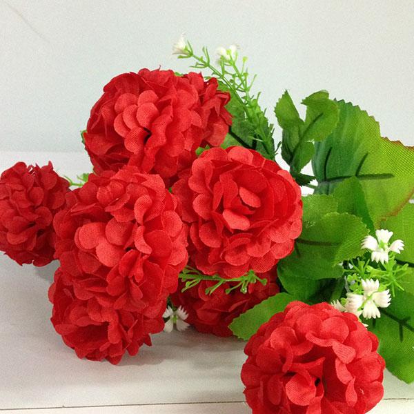 1Bouquet Artificial Chrysanthemum Silk Flower Home Decor Flower Arrangement