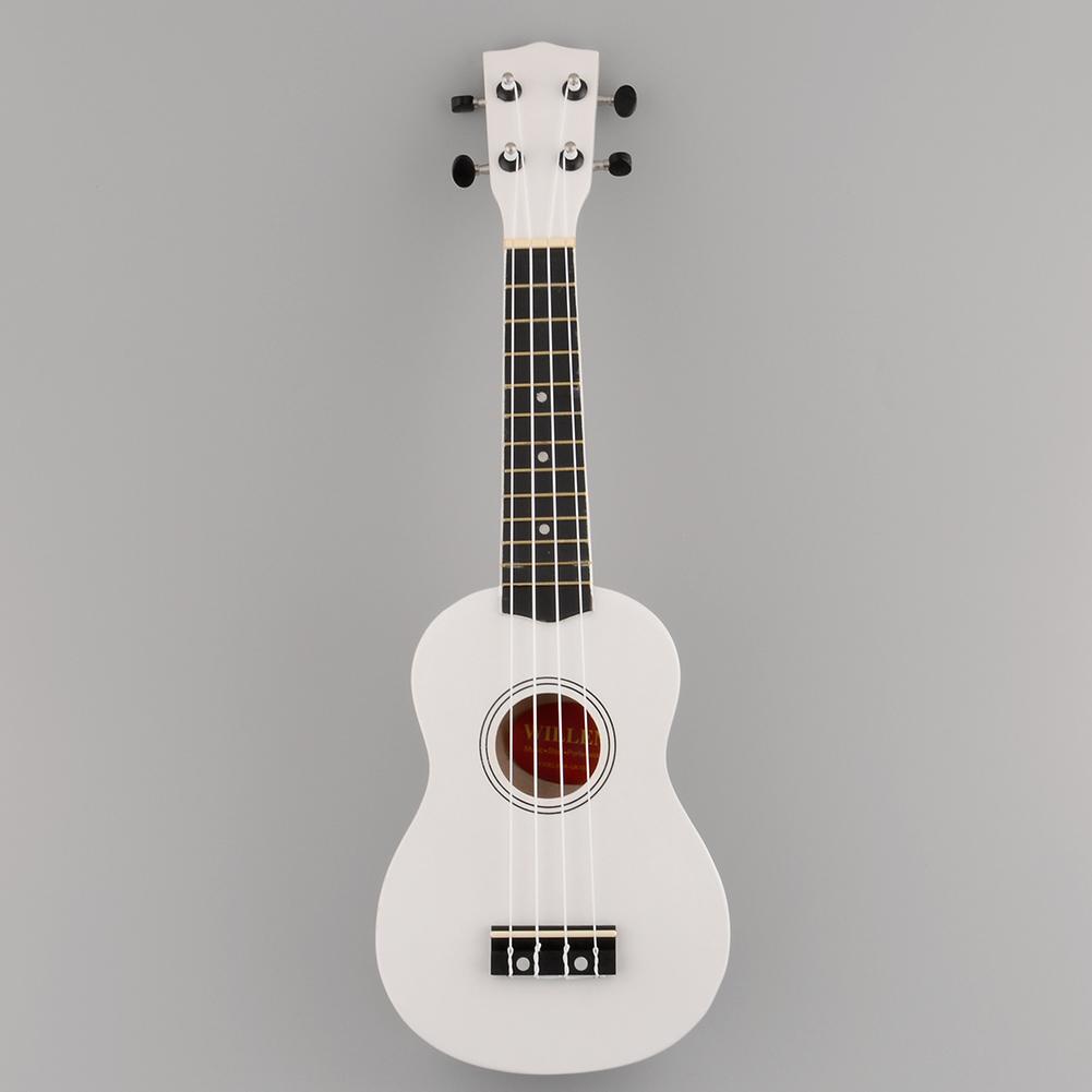 DCDE-New-21-039-039-Acoustic-Ukulele-12-Frets-Instrument-Hawaiian-Coffee-Black-White