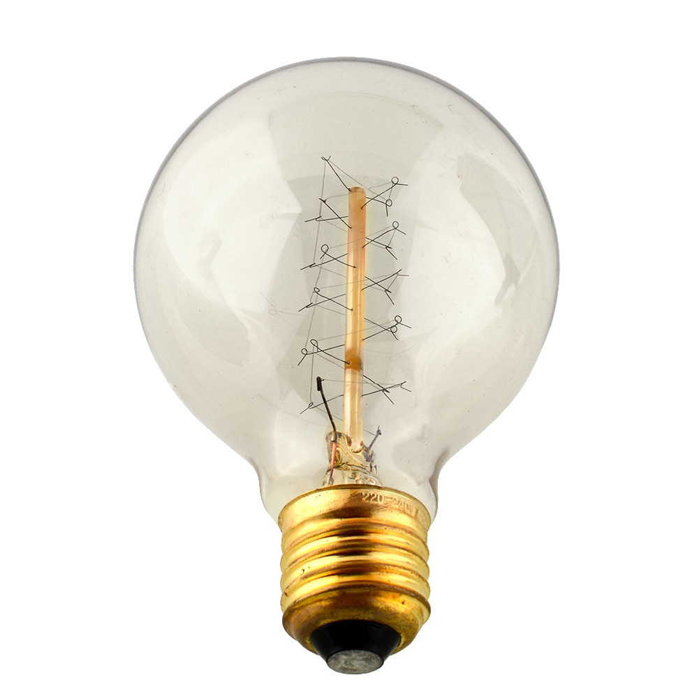 Edison vintage retro tungsten filament g80 220v 40w e27 light bulb incandescent ebay Tungsten light bulbs