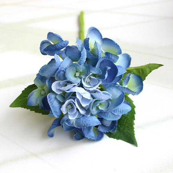 Artificial Silk Flower Bunch Bouquet Home Wedding Party Decor Hydrangea