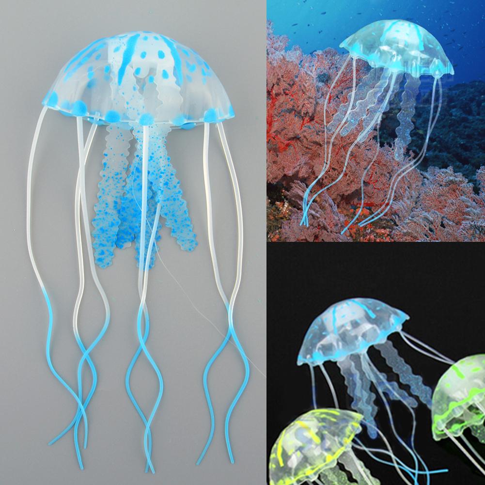 quallen jellyfish aquarium fisch tank dekoration
