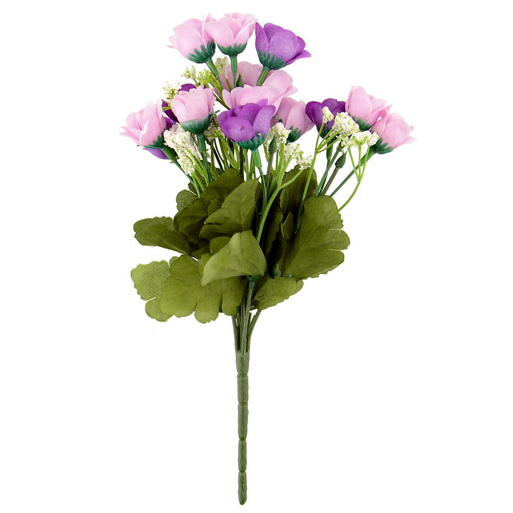 Artificial false rose silk flowers floral home wedding for Artificial flowers decoration for home