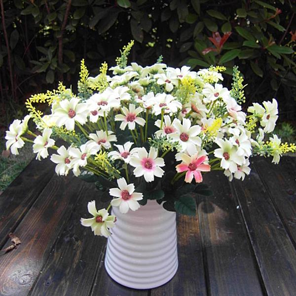 Artificial False Chrysanthemun Daisy Flowers Home Garden Decor Flower Arrangmen