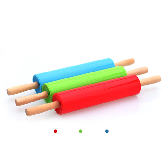 Plastic Cake Paste Stick Rolling Pin Sugarcraft Baking ...