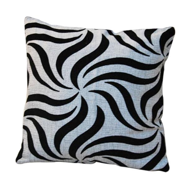 Black Throw Pillow For Bed : Linen Black Grey Throw Pillow Cushion Case Cover Home Car Sofa Bed Decor eBay