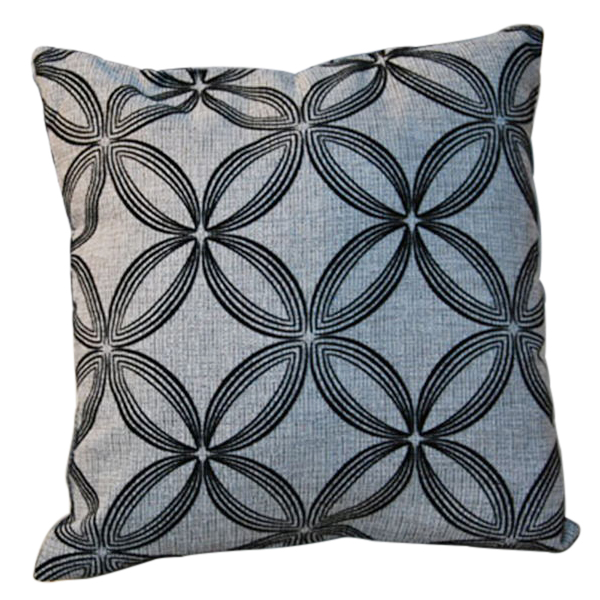 New Soft Luxury Black Grey Throw Pillow Cushion Case Cover Home Sofa Decor Gift eBay