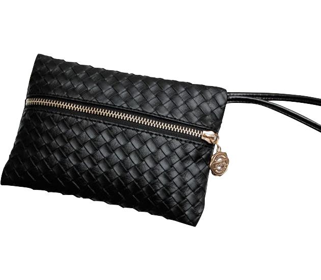 Fashion Women PU Leather Handbag Pattern Clutch Purse Wallet Evening Bag