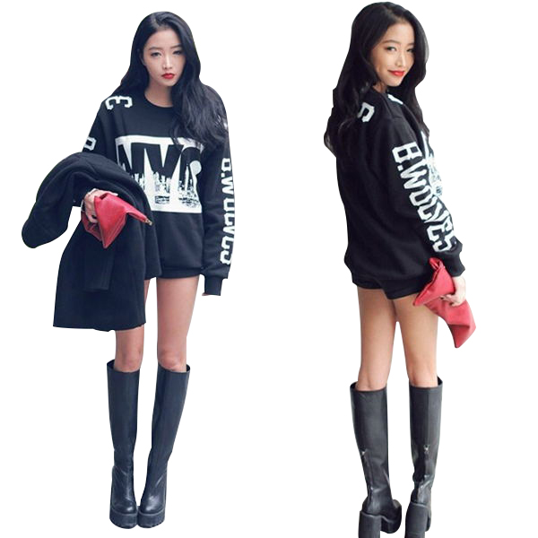 New Women's 3D Printed Hoodie T-Shirt Coat Long Sleeves Sweatshirt Blouse