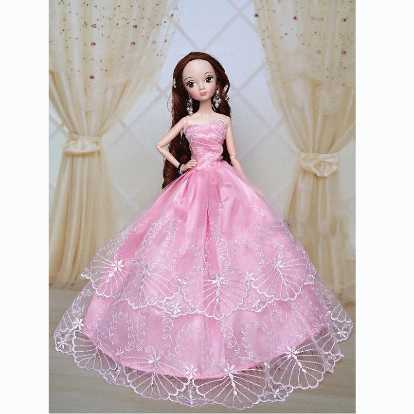 Barbie Pink Wedding Dresses