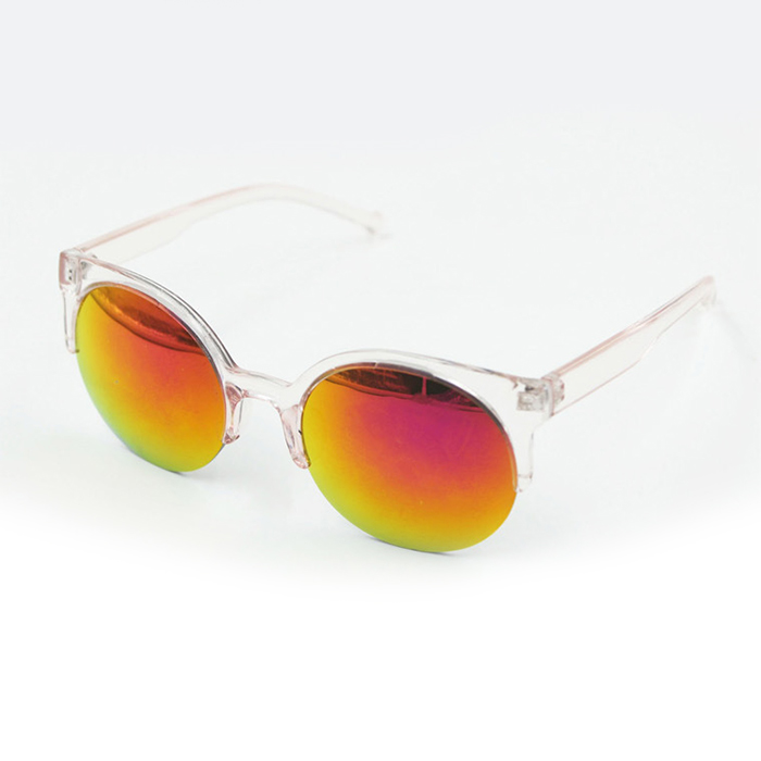 Retro Vintage Women Lady Half Frame Cats Eye Sunglasses ...