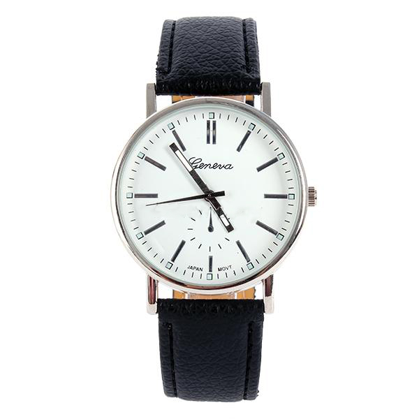 New Men's Women Quartz Analog Gold Dial Sport Fashion Wrist Watch Bracelet