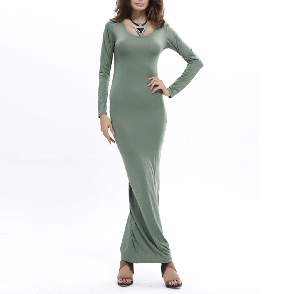 Plus size bodycon maxi dress