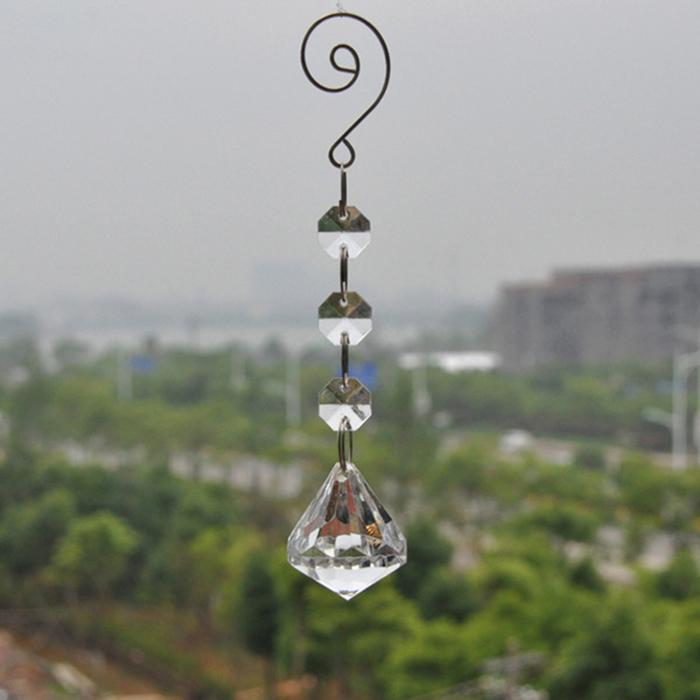 7A23-Hanging-Acrylic-Crystal-Drop-Bead-Wedding-Decor-Festival-Christmas-16mm