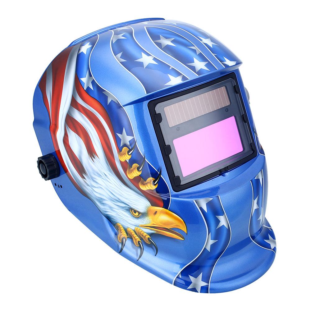 Hot! Pro Solar Auto Darkening Welding Helmet Arc Tig Mig