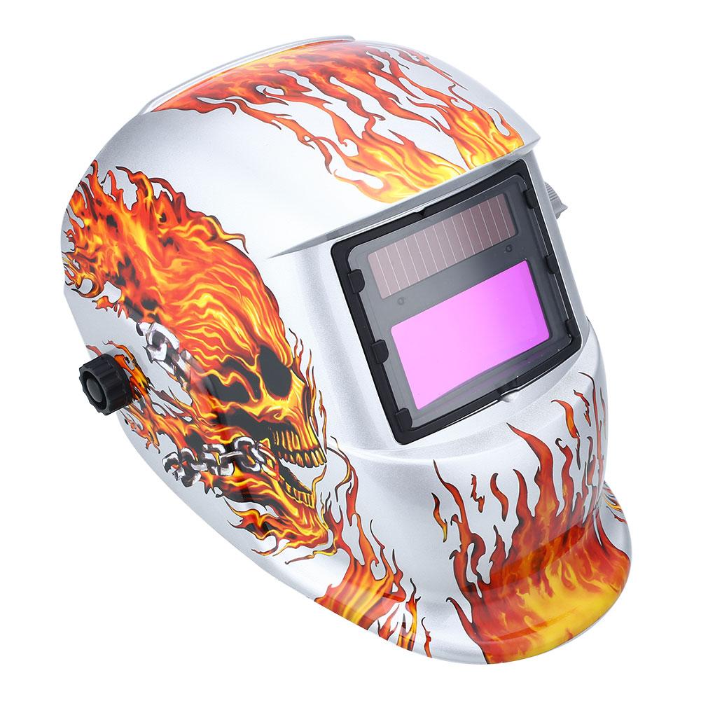 Solar Auto Darkening Welding Helmet Arc Protect Grinding