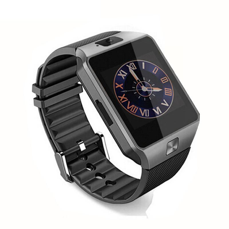 schwarz dz09 bluetooth waist watch smartwatch armbanduhr. Black Bedroom Furniture Sets. Home Design Ideas