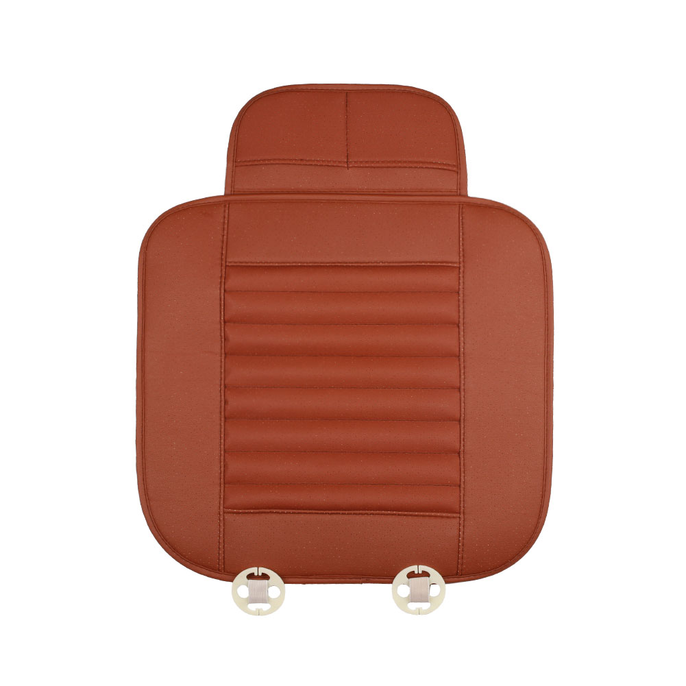 breathable pu leather bamboo charcoal car cover pad mat for auto chair cushion ebay. Black Bedroom Furniture Sets. Home Design Ideas
