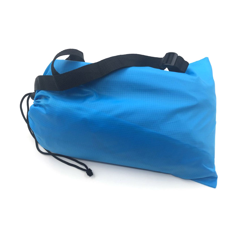 Air Sleeping Bag : Fast inflatable air sleeping bag camping bed beach hangout