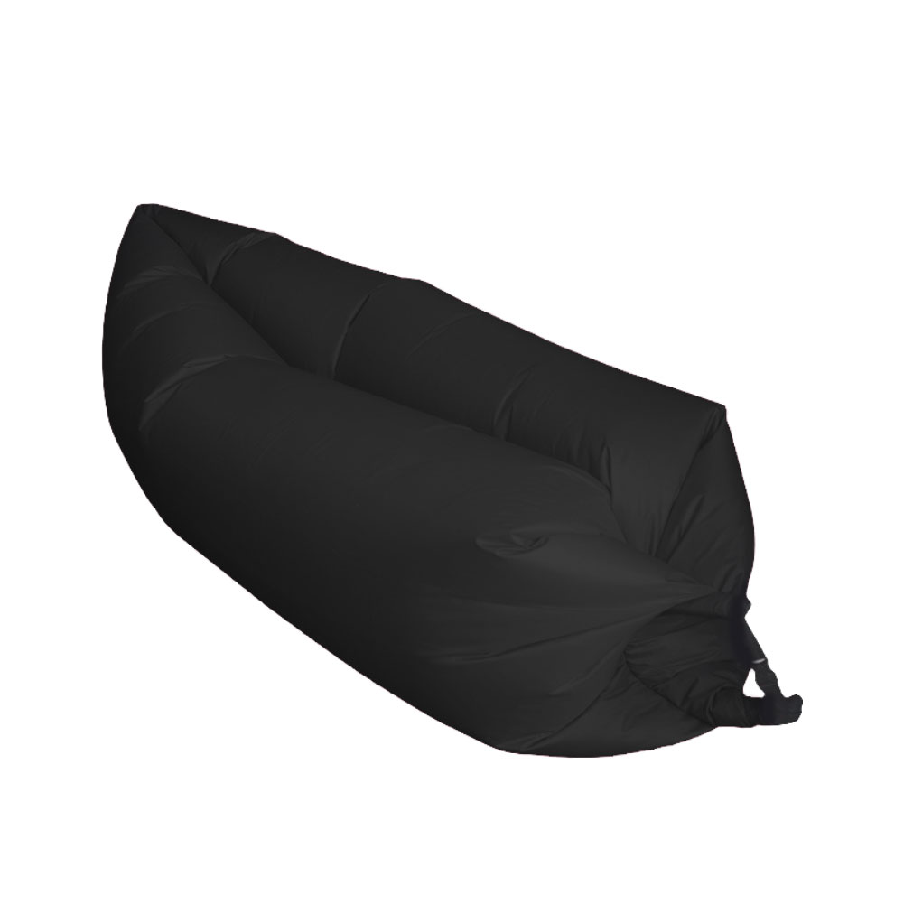 Air Sleeping Bag : Fast inflatable hiking air sleeping bag camping bed beach
